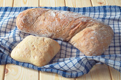 Ciabatta de miches de pain Image stock