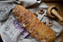 Ciabatta de pain frais Photographie stock libre de droits