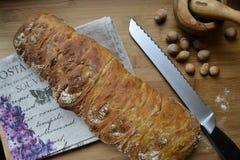 Ciabatta de pain frais Photographie stock