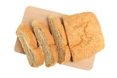 Ciabatta för vitt bröd arkivbild