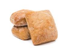 Ciabatta (Italiaans brood) Royalty-vrije Stock Foto's