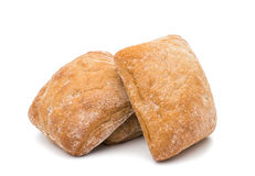 Ciabatta (Italiaans brood) Royalty-vrije Stock Foto