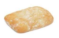 Ciabatta (Italian bread), isolated Stock Images