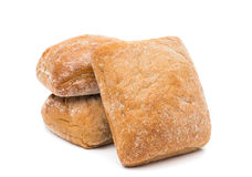 Ciabatta (Italian bread) Royalty Free Stock Photos