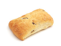 Ciabatta with olives Stock Image