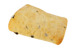 Ciabatta with olives Stock Photo