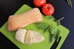 Ciabatta panini sandwich Stock Photography
