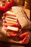 Ciabatta Sandwich Stockfoto