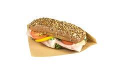 Ciabatta sandwich. Stock Image