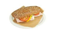 Ciabatta sandwich. Royalty Free Stock Image