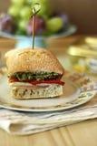 Ciabatta sandwich Royalty Free Stock Photos
