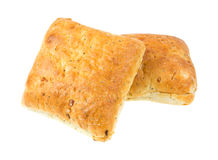 Ciabatta sandwich rolls Royalty Free Stock Photos