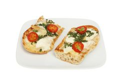 Ciabatta savory toast Stock Photos