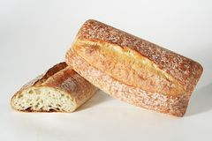 Ciabatta Style Bread Royalty Free Stock Images