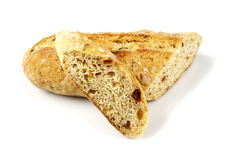 Ciabatta, Włoski chleb Obraz Royalty Free