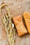 Ciabatta y pan del baguette Imágenes de archivo libres de regalías