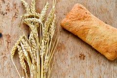 Ciabatta y pan del baguette Fotos de archivo