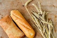 Ciabatta y pan del baguette Imagen de archivo