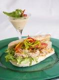 Ciabattasandwich van de tonijnpeper Royalty-vrije Stock Afbeelding