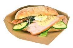 ciabattasmörgås arkivbild