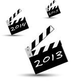 Ciack of the new year 2013 Royalty Free Stock Photos