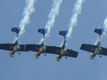 CIAF HK Red bull planes Stock Image