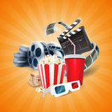 Ciak banner film Stock Images