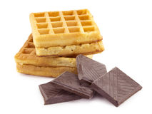 Cialda, cioccolato Immagine Stock Libera da Diritti