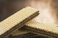 Cialda del cioccolato Immagine Stock Libera da Diritti
