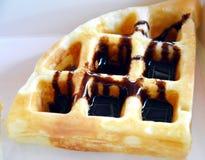 Cialda del cioccolato Fotografia Stock