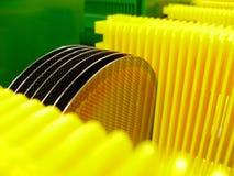 Cialda del silicone Fotografie Stock