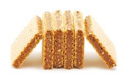 Cialde del cioccolato Fotografie Stock Libere da Diritti