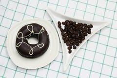 Ciambella del caffè Immagine Stock