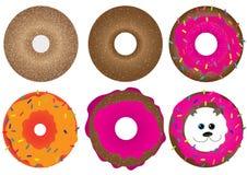 Ciambella, Doughnut_eps illustrazione di stock