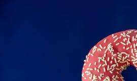 Ciambella rosa Fotografie Stock