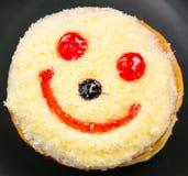 Ciambella sorridente Immagini Stock
