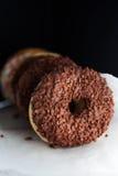 Ciambelle del cioccolato Fotografie Stock