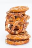 Ciambellina salata del pane Fotografie Stock Libere da Diritti