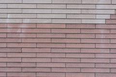 Ściana barwioni bloki Zdjęcie Stock