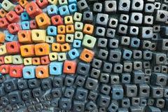 ściana ceramiczne zdjęcie royalty free
