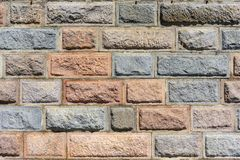 ?ciana dekoracyjny kamie? kamieniarstwo Tekstura kamienna ?ciana obrazy royalty free