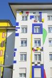 Ściana dom Windows Zdjęcia Royalty Free