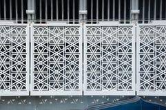 Ściana geometryczny Wzór Krajowy meczet Malezja a K masjid Negara Fotografia Stock