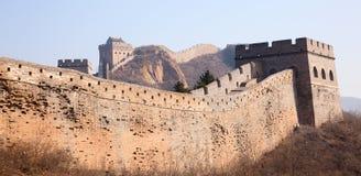 Ściana, greatwall Fotografia Stock
