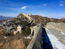 Ściana, greatwall Zdjęcia Stock