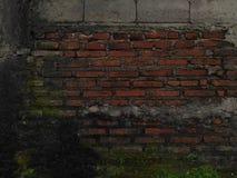 Ściana historia Obrazy Stock