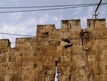 ściana jerusalem Zdjęcie Royalty Free