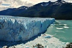 Ściana lód w Calafate Fotografia Stock