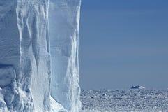 ściana lodowej Fotografia Royalty Free