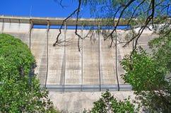 Ściana losu angeles Quebrada rezerwuar, Argentyna Fotografia Stock